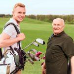 Auch im Golf ist nicht unbedingt der Jüngere im Vorteil. (Foto: Fotolia)